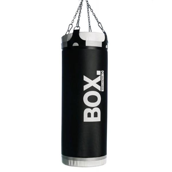 Тяжелый подвесной боксерский мешок, черный